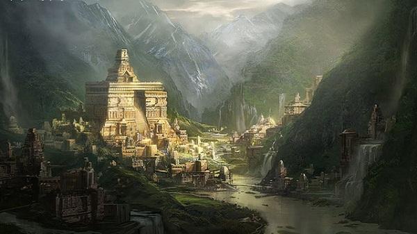 Thành phố bí ẩn của các linh hồn chỉ xuất hiện vào đêm không trăng