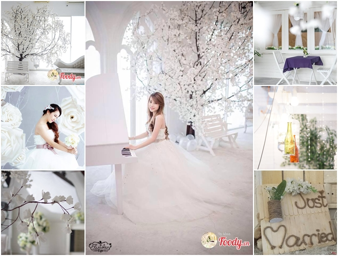 Quán cafe chụp ảnh cưới ở Hà Nội, Sài Gòn cực đẹp