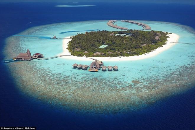 Top 10 resort sang trọng ở Maldives tuyệt đẹp