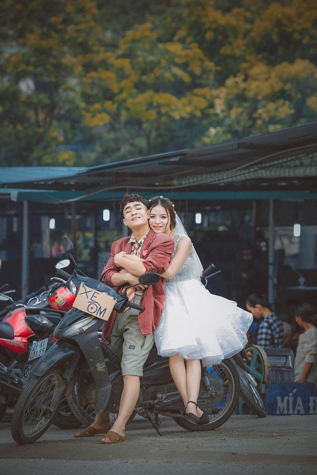 Bò lăn ra cười với bộ ảnh cưới đẹp lạ kì của 'thánh chế' Đỗ Duy Nam