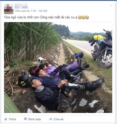 Choáng với những 'chiếc giường vàng' của phượt thủ Việt