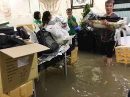 Đàm Vĩnh Hưng thống kê thiệt hại sau mưa lớn
