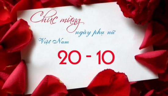 Những lời chúc 20/10 hay và ý nghĩa nhất dành tặng vợ yêu