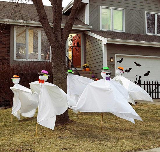 Tự trang trí Nhà đẹp, độc trong dịp lễ Halloween