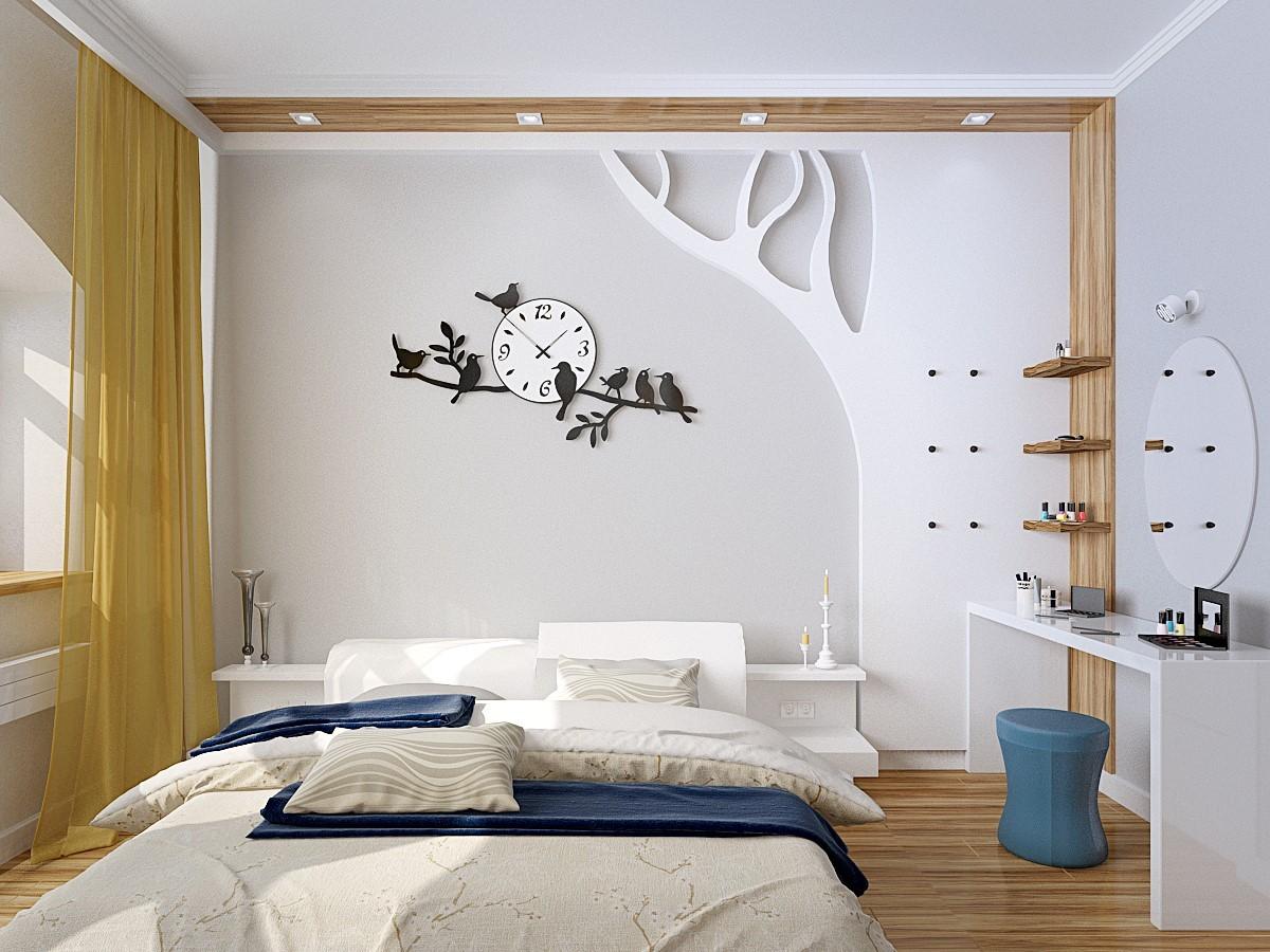 Mẹo trang trí phòng ngủ khiến bạn luôn thấy thư giãn