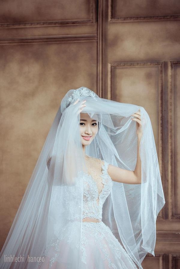 Trọn bộ ảnh cưới của Hoa hậu Trần Thu Ngân và chồng đại gia