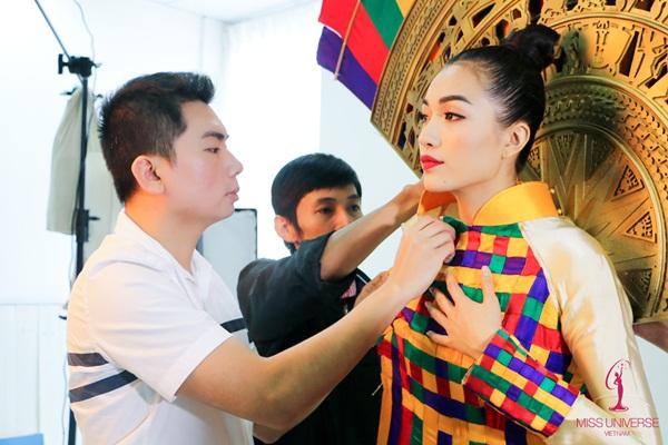 Hé lộ quốc phục của Lệ Hằng tại Miss Universe 2016