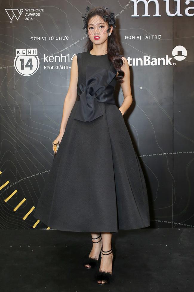 Dàn mỹ nhân Việt 'đọ sắc' trên thảm đỏ Gala WeChoice Awards 2016