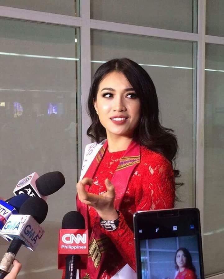 Lệ Hằng xuất hiện trên fanpage chính thức của Miss Universe 2016