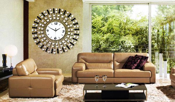 Cách trang trí đồng hồ treo tường phong thủy cho gia đình 'lộc phát'