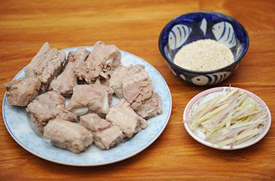 Món ngon mỗi ngày: Đổi vị cuối tuần với sườn non rang muối