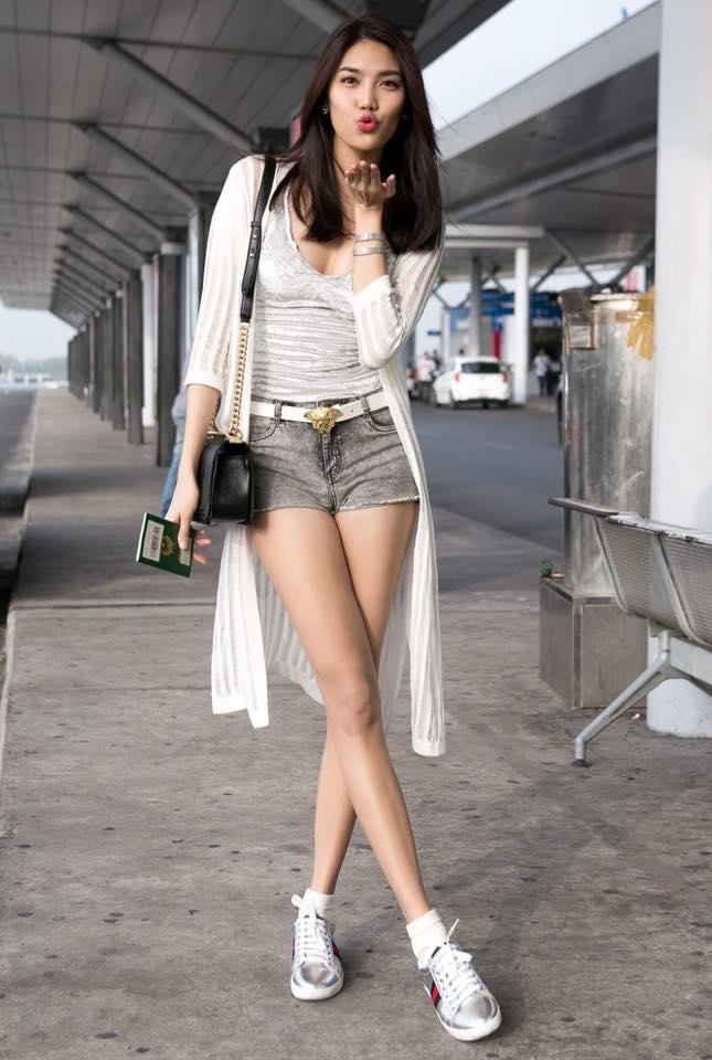 Cùng một đôi giày, học cách phối đồ sành điệu như Phạm Hương, Thanh Hằng, Lan Khuê