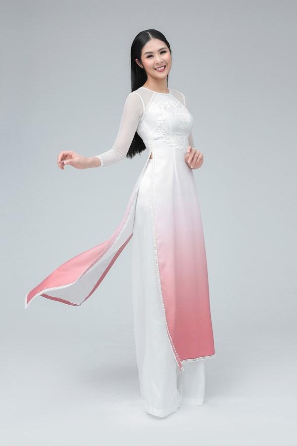 Hoa hậu Ngọc Hân được mời sang Anh biểu diễn áo dài