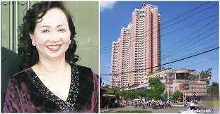 Bà Trương Mỹ Lan và Thuận Kiều Plaza. Ảnh: Internet