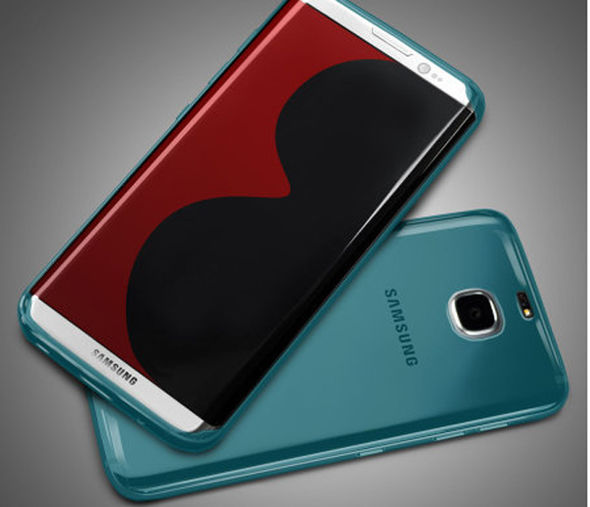 Tiết lộ hình ảnh siêu phẩm Samsung Galaxy S8 edge