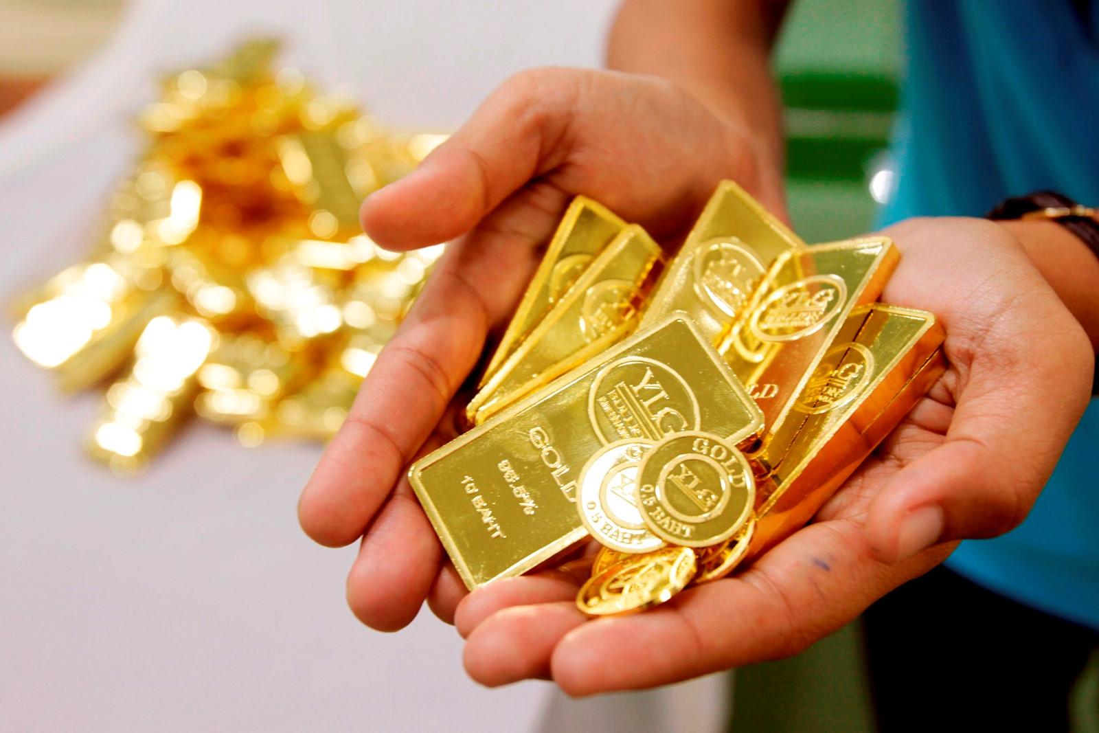 Giá vàng tiếp tục đứng ở mức cao