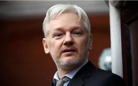 Julian Assange, nhà sáng lập trang WikiLeaks. Ảnh: Internet