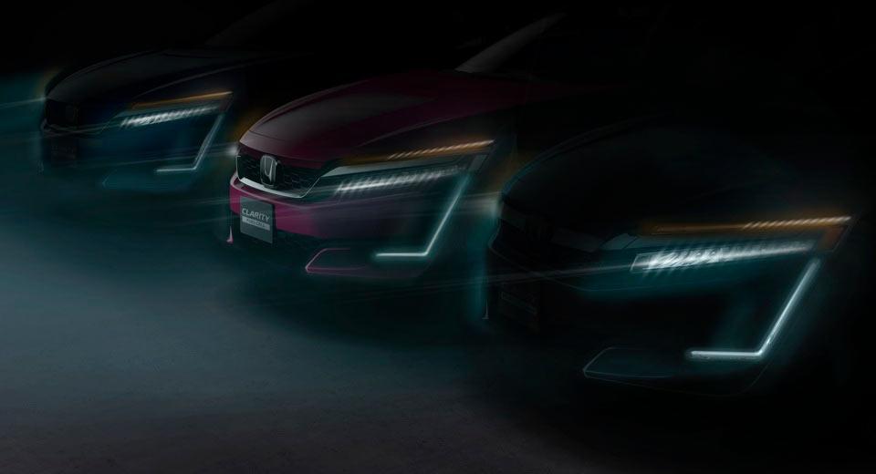 Honda Clarity PHEV & EV 'trình làng' tại Triển lãm New York 2017