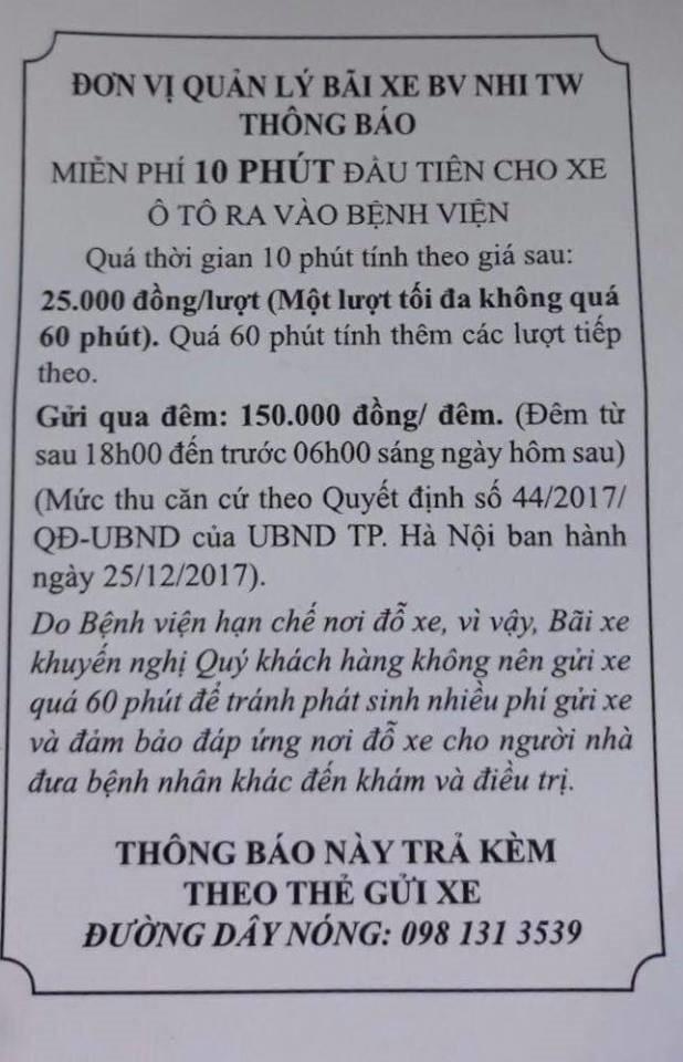 lanh-dao-benh-vien-nhi-thu-phi-gui-o-to-3-ngay-17-trieu-dong-la-hoan-toan-hop-ly