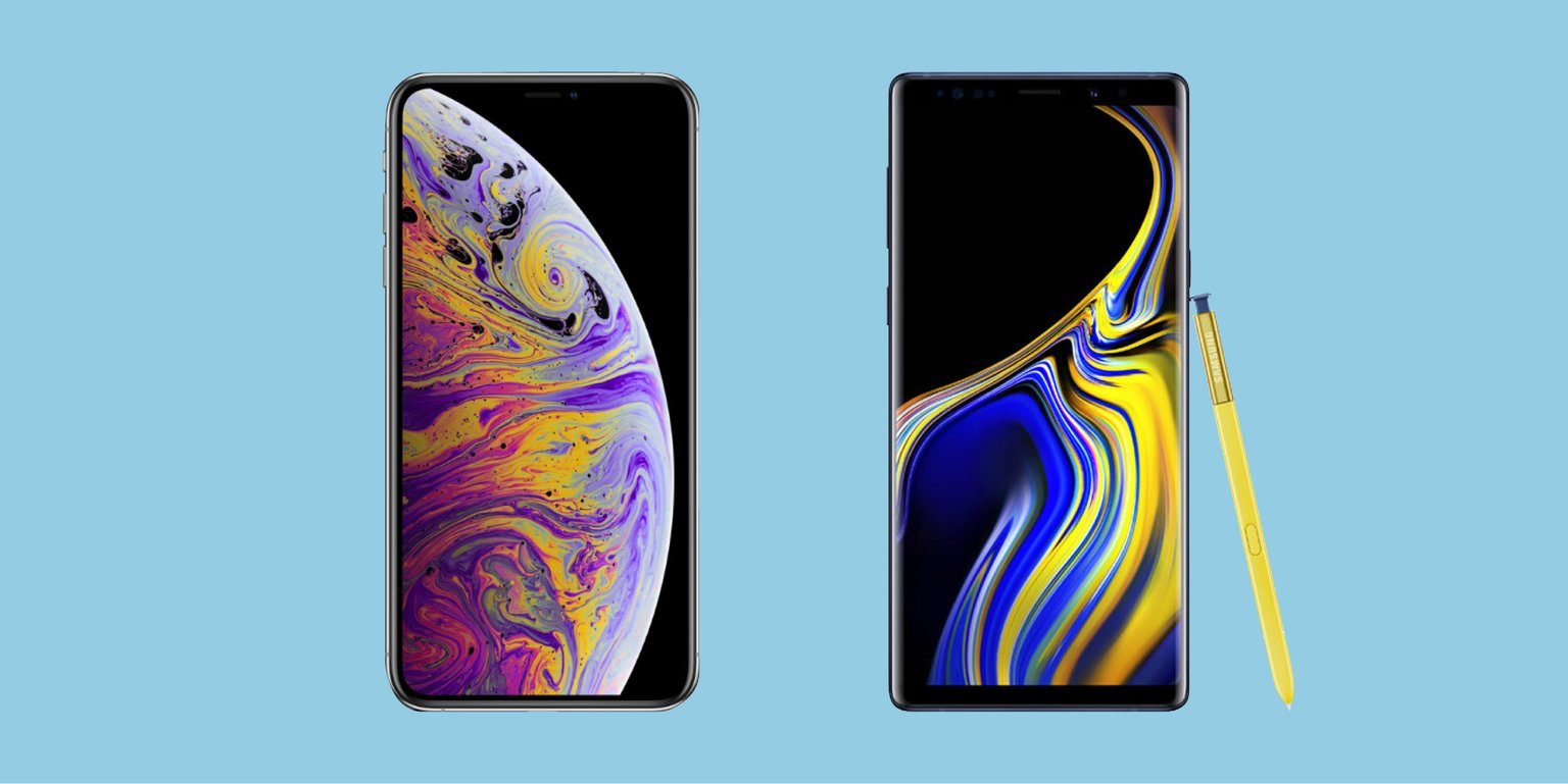 iphone-xs-max-va-galaxy-note-9-gia-hon-1000-usd-doi-thu-nao-manh-hon