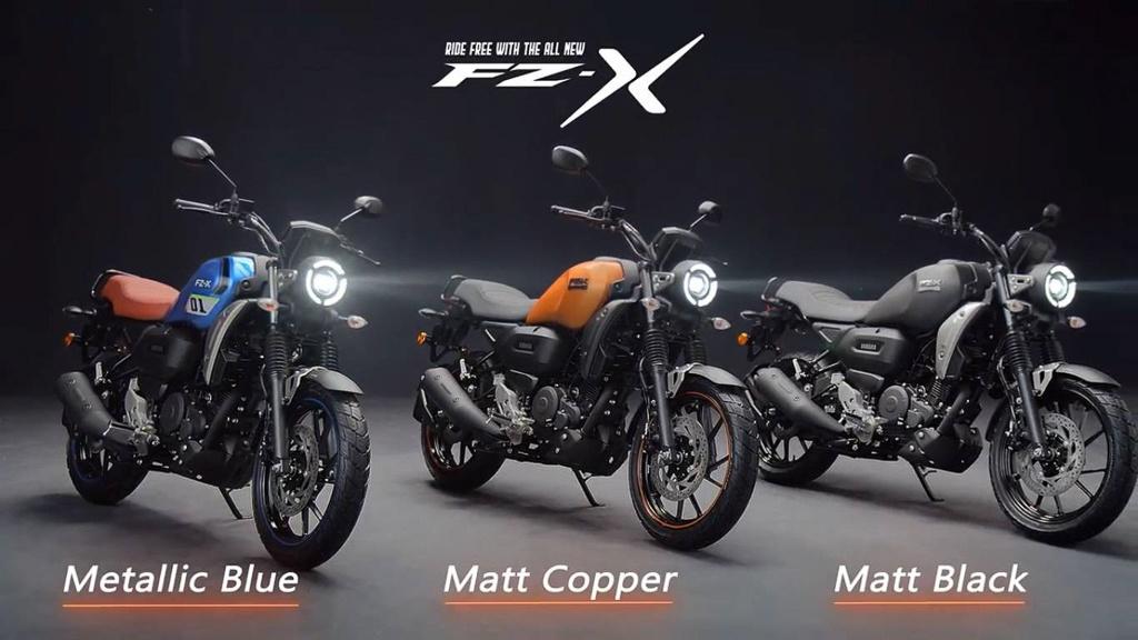 ra-mat-xe-con-tay-yamaha-fz-x-thiet-ke-giong-xsr-155-them-tinh-nang-ket-noi-bluetooth