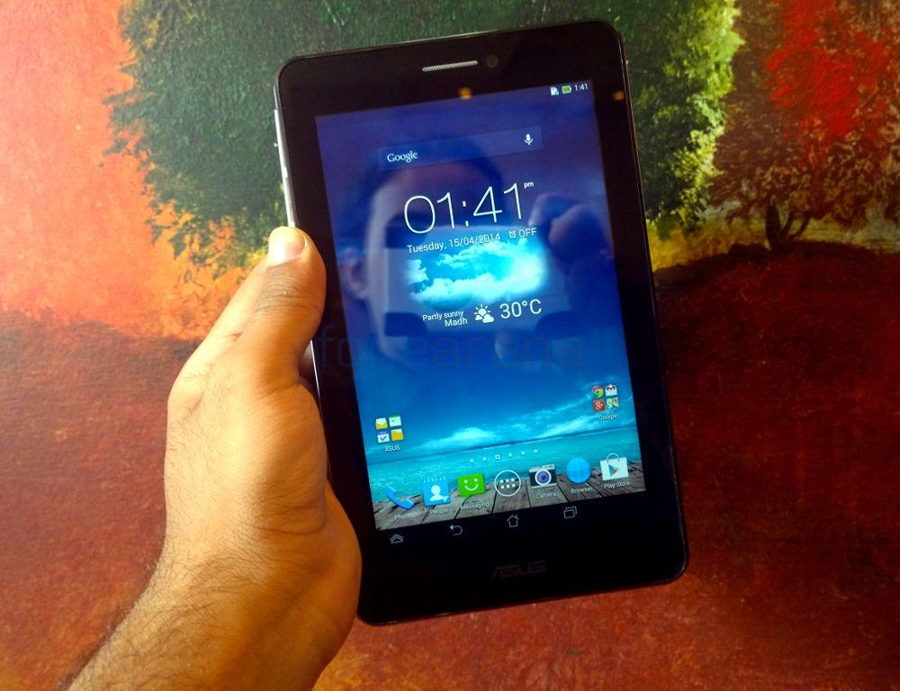 Máy tính bảng giá rẻ dưới 3 triệu Asus Fonepad 7 Dual sim cho phép người dùng thỏa sức nghe gọi, nhắn tin hoàn chỉnh