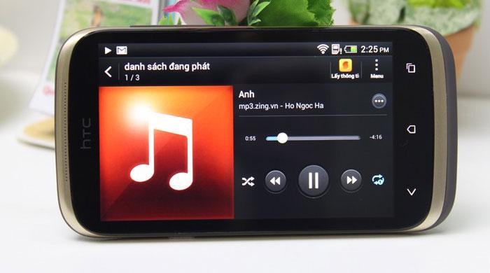 HTC Desire X Dual là smartphone giá rẻ dưới 3 triệu đồng đáng mua nhất hiện nay với thiết kế màu nâu khá lạ mắt