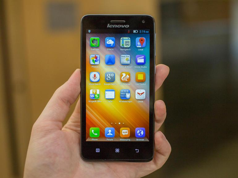 Lenovo S660 của  hãng điện thoại Trung Quốc được thiết kế cẩn thận và tỉ mỉ