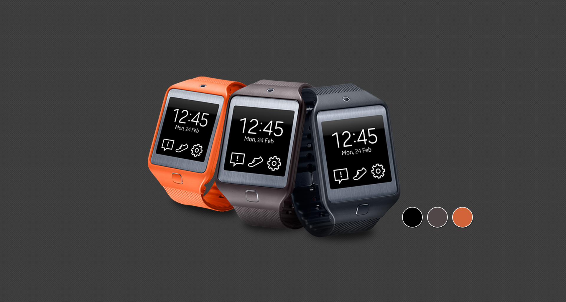 Samsung Gear 2 Neo có thiết kế vỏ nhựa nhưng đem lại cảm giác thích thú cho người đeo