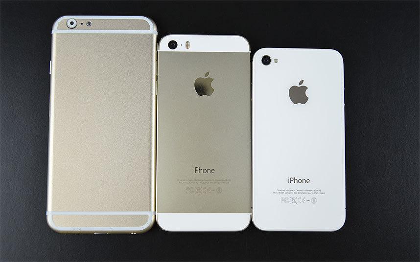 Blogger nổi tiếng người Úc, ông Sonny Dickson cũng đã tải lên một hình ảnh về mẫu giao diện di động mockup iPhone 6 sẽ mỏng hơn, màn hình lớn hơn so với iPhone 5, 5s và có thể uốn cong.