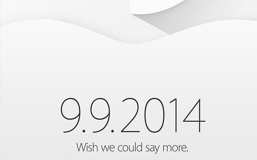 Vào ngày 28/8 vừa rồi, Apple đã chính thức gửi đến báo chí thư mời tham gia sự kiện ra mắt iPhone 6 vào ngày 9/9 tại trung tâm triển lãm Flint Center ở Cupertino, California. Nhiều khả năng hãng sẽ giới thiệu hai chiếc iPhone 6 mới và chiếc đồng hồ iWatch tại sự kiện này.