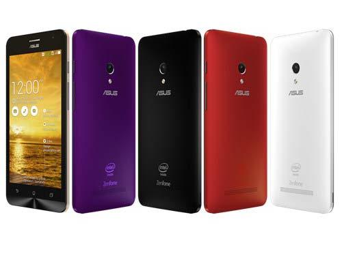 Smartphone giá rẻ dưới 4 triệu Asus ZenFone 5 với thiết kế chắc chắn, độc đáo, cấu hình tốt đáng mua nhất 2014