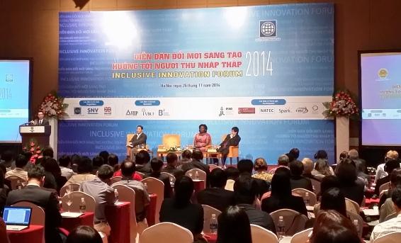 Tin khoa học công nghệ trong nước mới nhất ngày 30/11 là Diễn đàn 'Đổi mới sáng tạo hướng tới người thu nhập thấp'