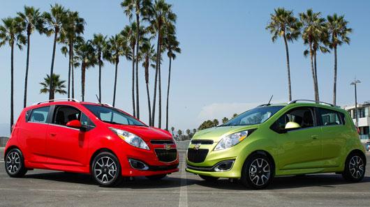 Chevrolet Spark 2014 là model ô tô giá rẻ tiết kiệm nhiên liệu hiện nay