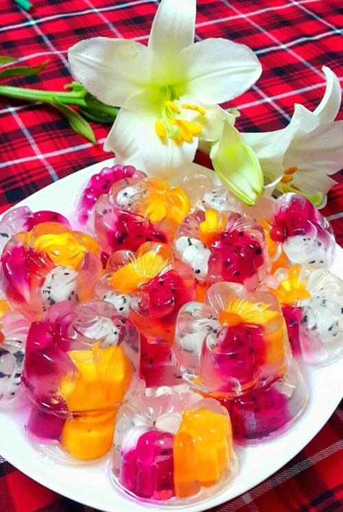 Tự làm thạch hoa quả mát lạnh cho mùa hè - ảnh 6