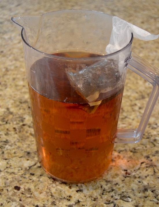 Pha trà với độ đậm đặc tùy theo sở thích