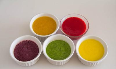 Cách làm sinh tố bảy màu đẹp không nỡ ăn - ảnh 3