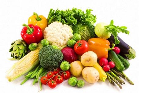 Rau củ quả rất tốt cho cơ thể đặc biệt có thể ngăn ung thư da hiệu quả