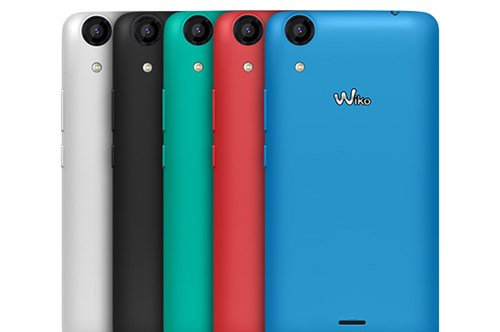 Điện thoại Wiko Rainbow Lite với thiết kế sang trọng