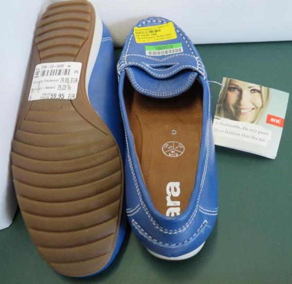 Người tiêu dùng nên hết sức cẩn thận trước những loại giầy dép của các hãng bị thu hồi trên