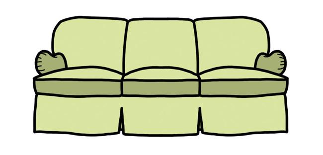 Ghế tay cuộn kiểu Anh: Phần tay vịn cuộn tròn chính là đặc điểm riêng của loại sofa này. Loại ghế này có những chiếc đệm lớn ở dưới để tạo sự thoải mái. Phía sau chỗ ngồi được cố định để đảm bảo những chiếc đệm không bị dịch chuyển.