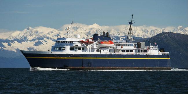 Marine Highway của Alaska: Đây đã trở thành một trong những điểm đến mà các du thuyền thường ghé thăm nhất khi đến Alaska nhờ vào lịch sử đầy màu sắc của khu vực này.