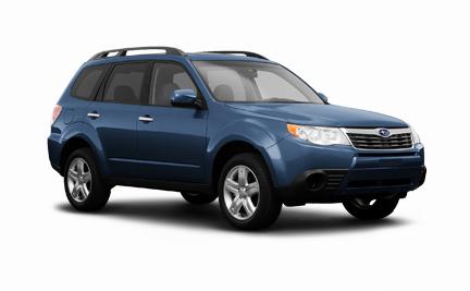 Subaru Forester 2009 – 2010 giá 400 triệu