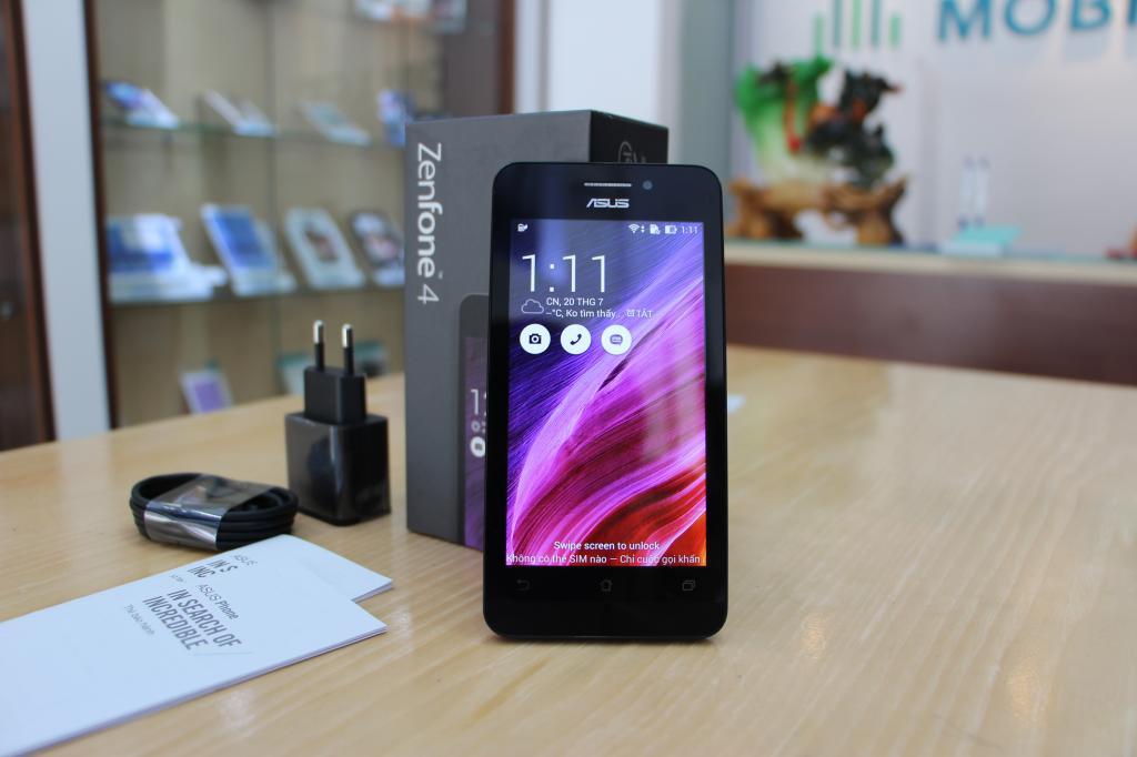 A450 là mẫu smartphone giá rẻ dưới 3 triệu đồng được Asus bán ra thị trường vào giữa tháng 6