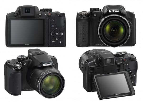 Máy ảnh giá rẻ dưới 10 triệu Nikon Coolpix P510 có thiết kế nhỏ gọn và dễ sử dụng