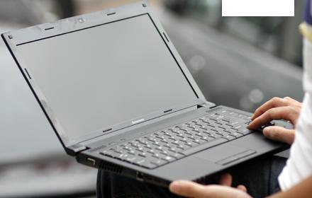 Laptop giá rẻ dưới 9 triệu đồng Lenovo Ideapad B460 được trang bị màn hình nền LED