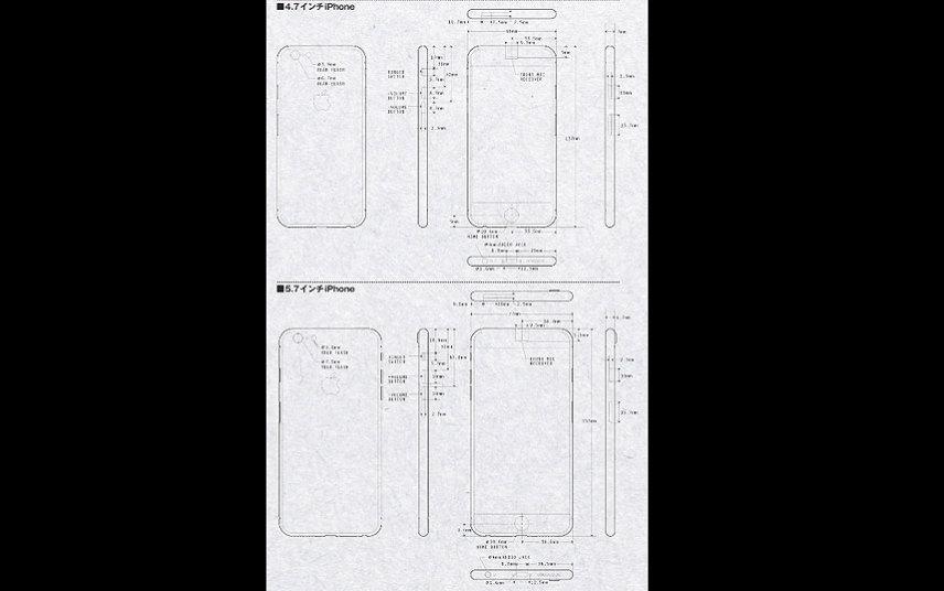 Tháng 3/2014 vừa qua, một blogger nổi tiếng người Nhật, ông Macotakara đã đăng tải những hình ảnh minh họa về 2 phiên bản 4.7-inch và 5.7-inch của siêu phẩm iPhone 6 với kích thước lớn hơn, mỏng hơn, mạnh mẽ hơn so với những thế hệ iPhone trước đó.