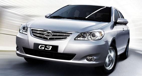 BYD G3 là mẫu sedan cỡ nhỏ sở hữu nhiều tiện ích cho người dùng
