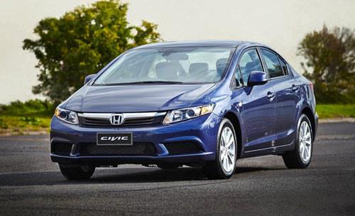 Honda Civic là mẫu ô tô giá rẻ bền với giá bán hấp dẫn cho người tiêu dùng