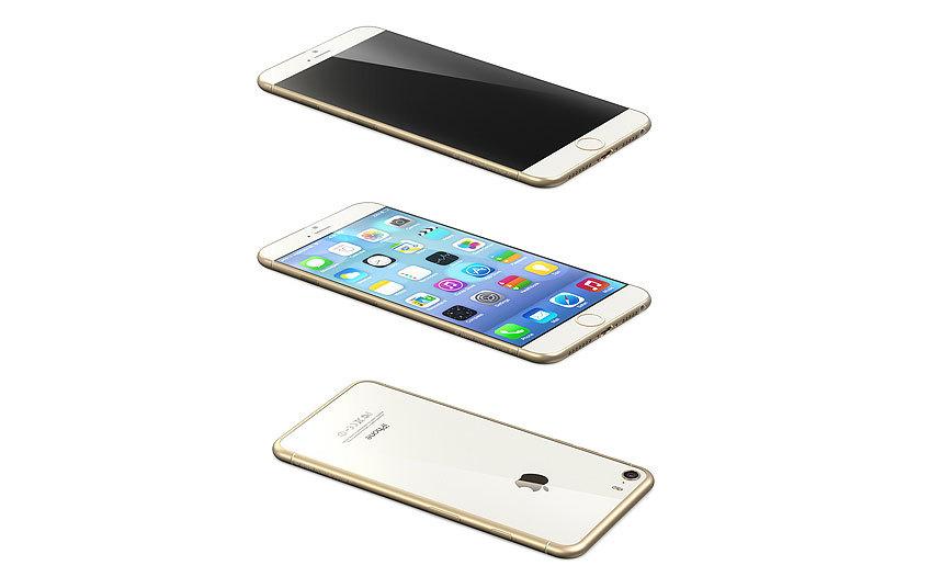 Một nguồn tin đáng tin cậy là Nowhereelse.fr đã cùng làm việc với nhà thiết kế Martin Hajek để tạo ra chiếc iPhone 6 với màn hình 3 chiều. Tuy nhiên, iPhone 6 sẽ vẫn có thiết kế mặt trước tương tự iPhone 5s và mẫu iPhone 6 bản màu vàng có thể sẽ nhanh chóng được bán hết tại Hong Kong và casc đại lục của Trung Quốc giống như thế hệ iPhone 5s trước đó.